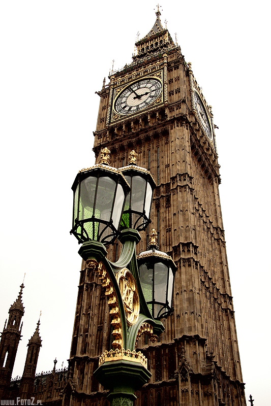 Big Ben - London - londyn, zabytki, latarnia, architektura