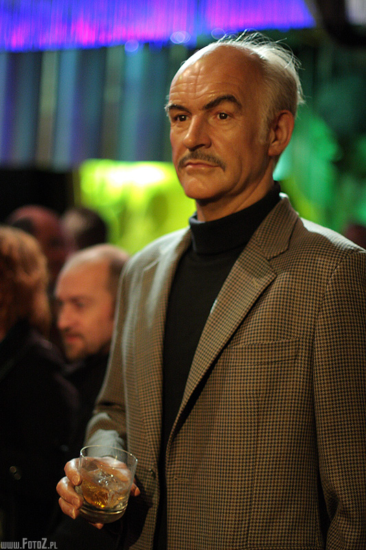 Sean Connery - muzeum figur woskowych londyn, madame tussauds - london