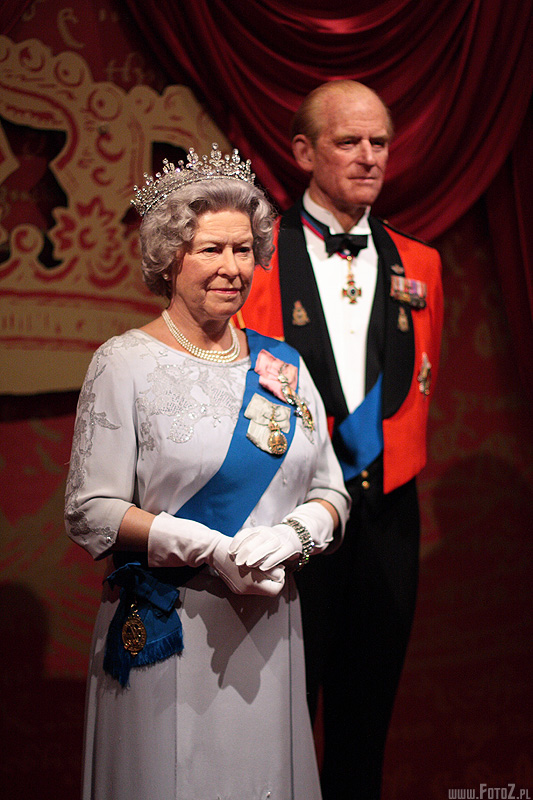 The Queen - muzeum figur woskowych londyn, madame tussauds - london