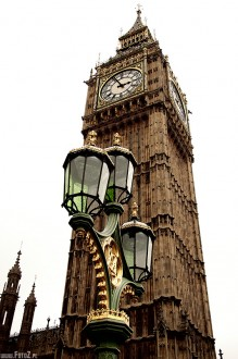 londyn, zabytki, latarnia, architektura - Big Ben - London